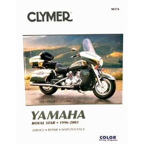 CM374 - 96-10 Yamaha Royal Star Repair & Maintenance manual