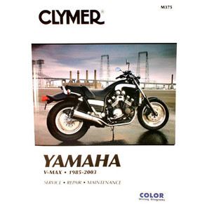 CM375 - 85-03 Yamaha V-Max Repair & Maintenance manual