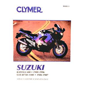 CM383 - 88-96 Suzuki GSX600F Katana & 86-87 GSX-R750, GSX-R1100 Repair & Maintenance manual