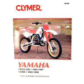 CM390 - 85-87 Yamaha YZ125, YZ250 & 85-90 YZ490 Repair & Maintenance manual