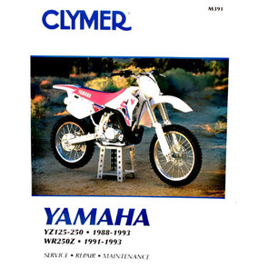 CM391 - 88-93 Yamaha YZ125-250 & 91-93 WR250Z Repair & Maintenance manual