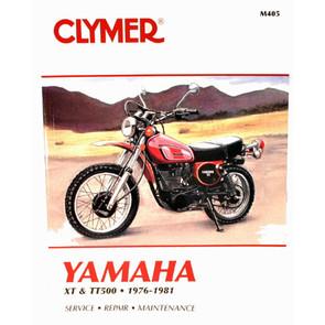 CM405 - 76-81 Yamaha XT500 & TT500 Repair & Maintenance manual