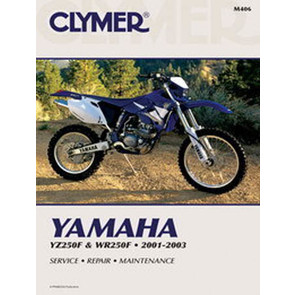 CM406 - 01-03 Yamaha YZ250F & WR250F Repair & Maintenance manual