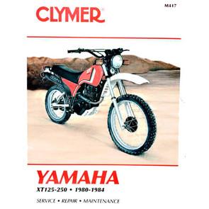 CM417 - 80-84 Yamaha XT125, XT200, & XT250 Repair & Maintenance manual
