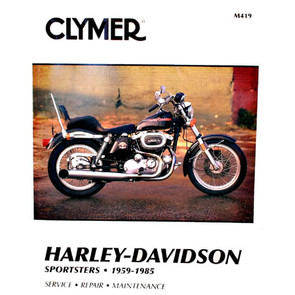 CM419 - 59-85 Harley Davidson Sportsters Repair & Maintenance manual