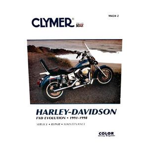 CM424 - 91-98 Harley Davidson FXD Evolution Repair & Maintenance manual