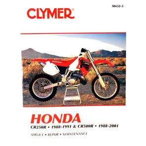 CM432 - 88-91 Honda CR250R & 88-01 CR500R Repair & Maintenance manual