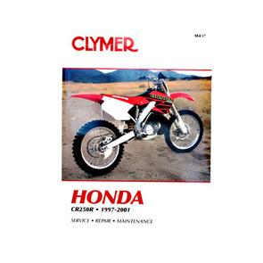 CM437 - 97-01 Honda CR250R Repair & Maintenance manual
