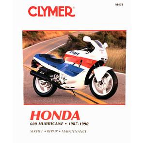 CM439 - 87-90 Honda 600 CBR600F Hurricane Repair & Maintenance manual