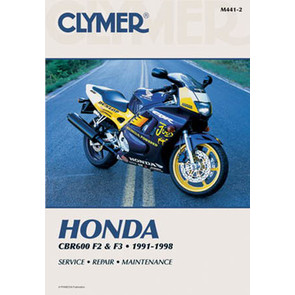 CM441 - 91-98 Honda CBR600 F2 F3 Repair & Maintenance manual