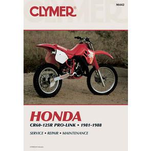 CM442 - 81-88 Honda CR60R-125R Pro-Link Repair & Maintenance manual