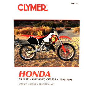 CM457 - 92-97 Honda CR125R & 92-96 CR250R Repair & Mainteance manual
