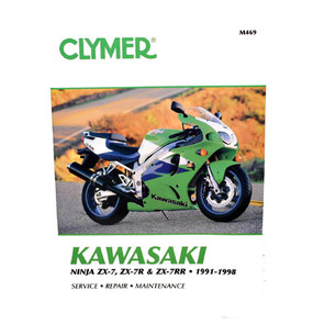 CM469 - 91-98 Kawasaki Ninja ZX-7, ZX-7R, ZX-7RR Repair & Maintenance manual