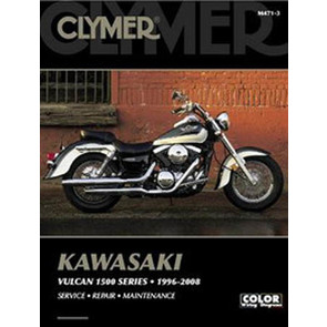 CM471-D - 96-08 Kawasaki Vulcan 1500 Classic, Drifter, Nomad Repair & Maintenance manual