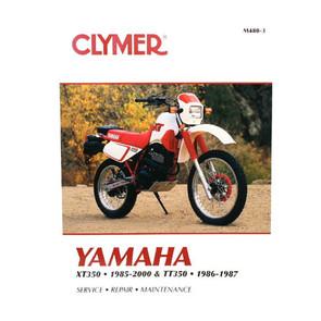 CM480 - 85-00 Yamaha XT350 & 86-87 TT350 Repair & Maintenance manual