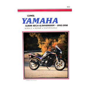 CM494 - 92-98 Yamaha XJ600 Seca II, Diversion Repair & Maintenance manual