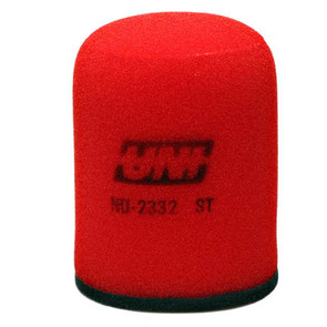 NU-2332ST - Uni-Filter Two-Stage Air Filter. For 08 Kawasaki KFX 450R