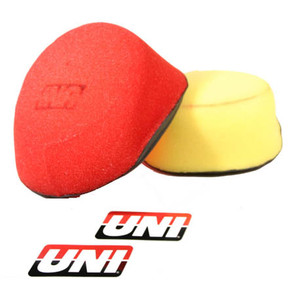 NU-2474ST - Uni-Filter Two-Stage Air Filter. For Suzuki 96-03 RM125, 96-02 RM250.