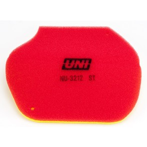 NU-3212ST - Uni-Filter Two-Stage Air Filter. For many Yamaha Grizzly 550/700 ATVs