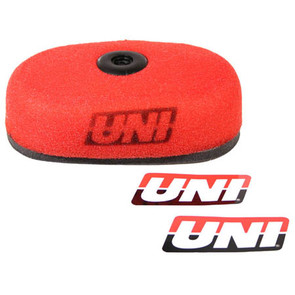 NU-4074ST - Uni-Filter Air Filter. For 86-04 Honda XR250 R & L, 83-85 XR350R, 96-04 XR400