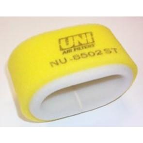 NU-8502ST - Uni-Filter Two-Stage Air Filter for 95-99 Polaris Magnum (oval), 95-99 Scrambler, 96-01 Scrambler 400, 97-99 Sport 400
