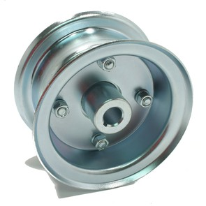 "AZ1021 - 5"" Steel Multi-Purpose Wheel, 3/4"" Live Axle Hub"