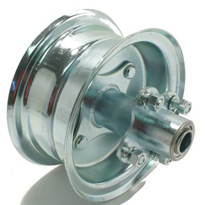 "AZ1038 - 6"" Steel Multi-Purpose Wheel with Extended Hub"