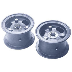 "AZ1053 - 4"" Azusalite Wheel, 3"" wide, 5/8"" ID Bearing"