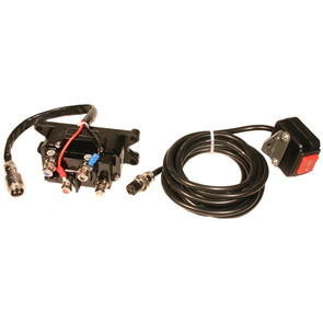 RUSOLENOID - Heavy Duty Winch Solenoid & Switch Kit