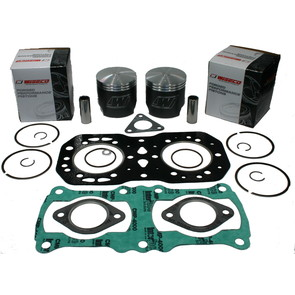 SK1065 - +020 Polaris Piston Kit. 89-97 Liquid Cooled 500 EC45PL097 engine.