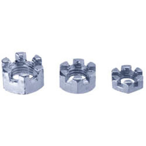 AZ8528-W1 - 1/2-20 Slotted Hex Nuts