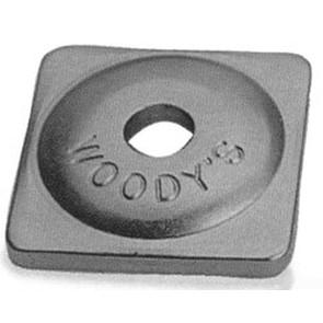 14-ASW-3735B -  7MM Purple Square Aluminum Backer Plates
