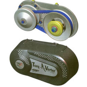 "218355A - Torq-A-Verter, 1"" Bore 10 Teeth, #40/41 Chain Torque Converter. Made in the USA"