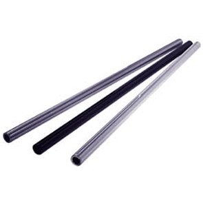 "AZ1432-32 - Silver Anodized Aluminum Tubular Axles 32"" Length, .195 wall, 1-1/4"" dia"