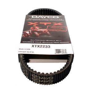 XTX2233 - Yamaha Dayco XTX (Xtreme Torque) Belt. Fits 01 & newer Grizzly & Rhino models.
