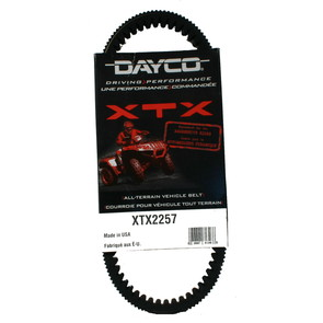 XTX2257 - Kawasaki Dayco XTX (Xtreme Torque) Belt. Fits many Kawasaki Mule UTVs