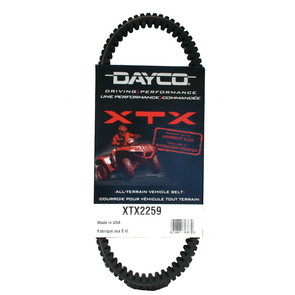 XTX2259 - Arctic Cat Dayco XTX (Xtreme Torque) Belt. Fits some 13-14 Wildcat models.