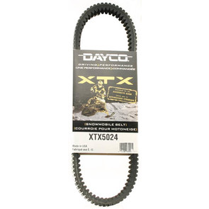 XTX5024 - Ski-Doo Dayco  XTX (Xtreme Torque) Belt. Fits 03 & newer High Performance Ski-Doo.