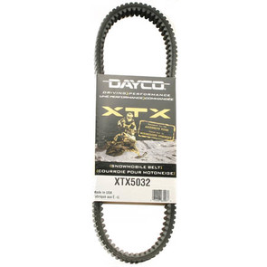 XTX5032 - Arctic Cat Dayco   XTX (Xtreme Torque) Belt. Fits '07 and newer high powered Snowmobiles.