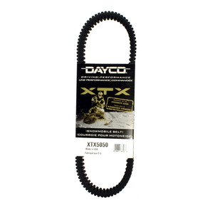 XTX5050 - Arctic Cat Dayco  XTX (Xtreme Torque) Belt. Fits most 2006 Arctic Cat Firecat Snowmobiles.